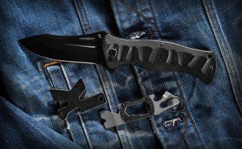 keychain carabiner knives